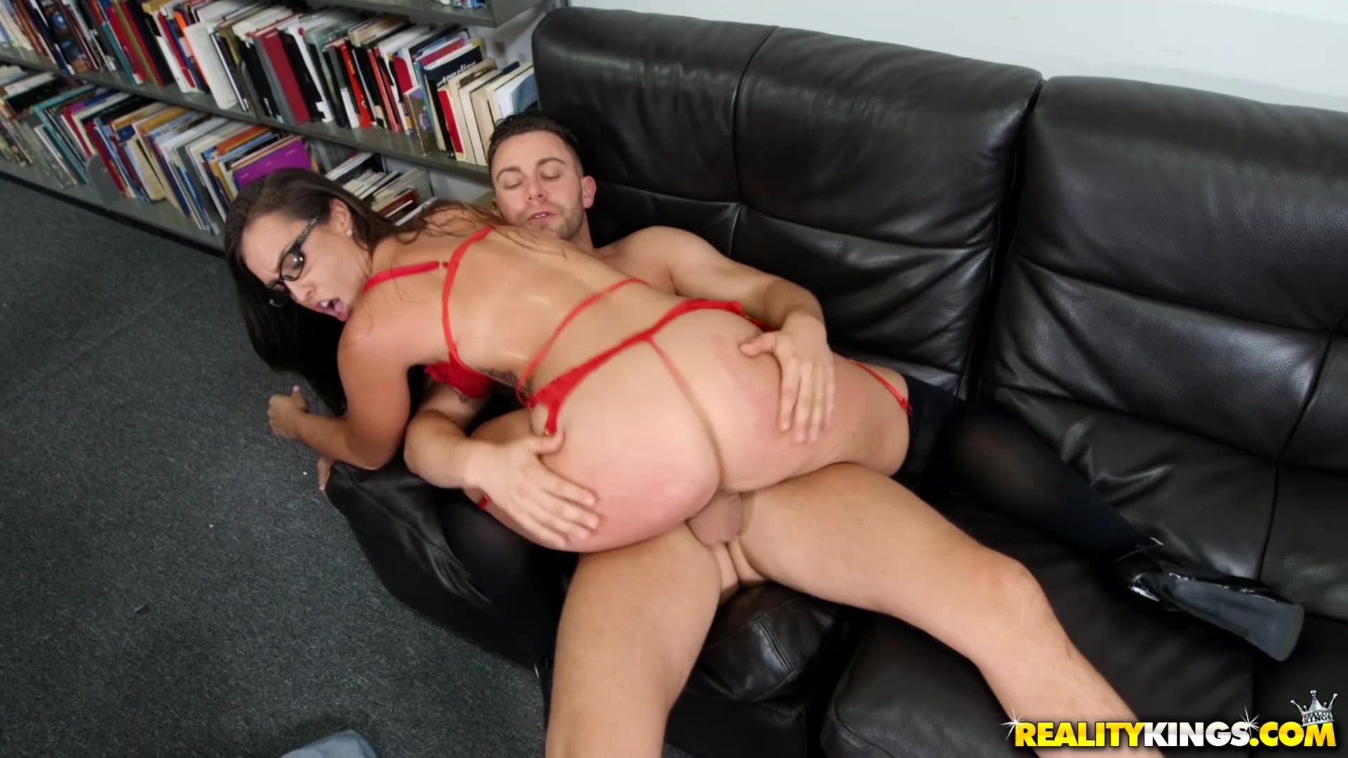 Half naked riding dicks