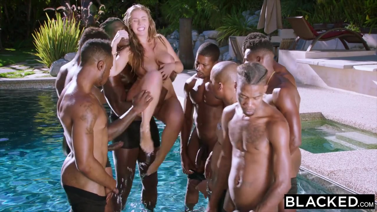 remarkable gorgeous blonde gangbang scandal! Willingly accept. interesting