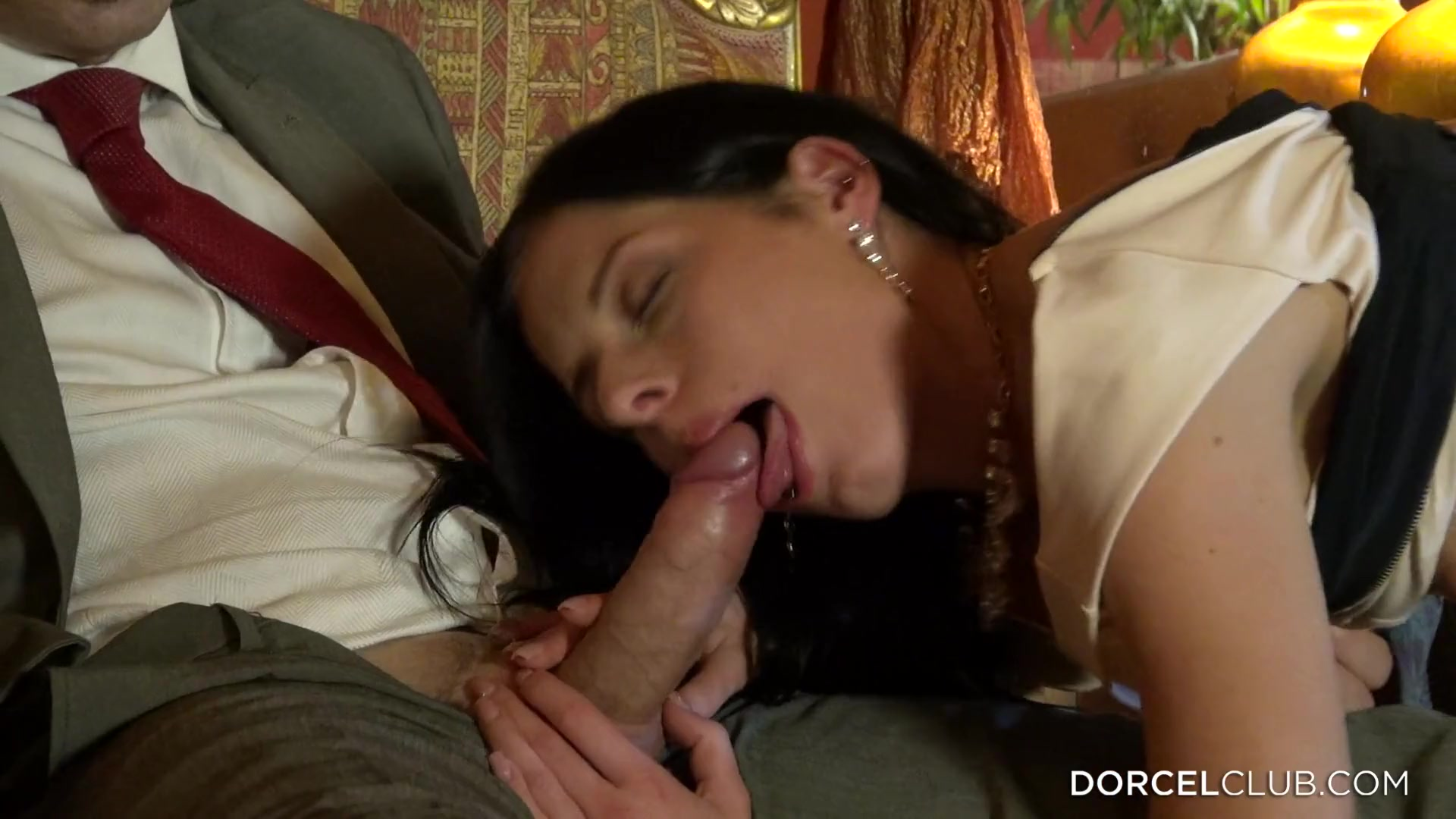 Flabbergasting anal sex from popular french porn website dorcelclub