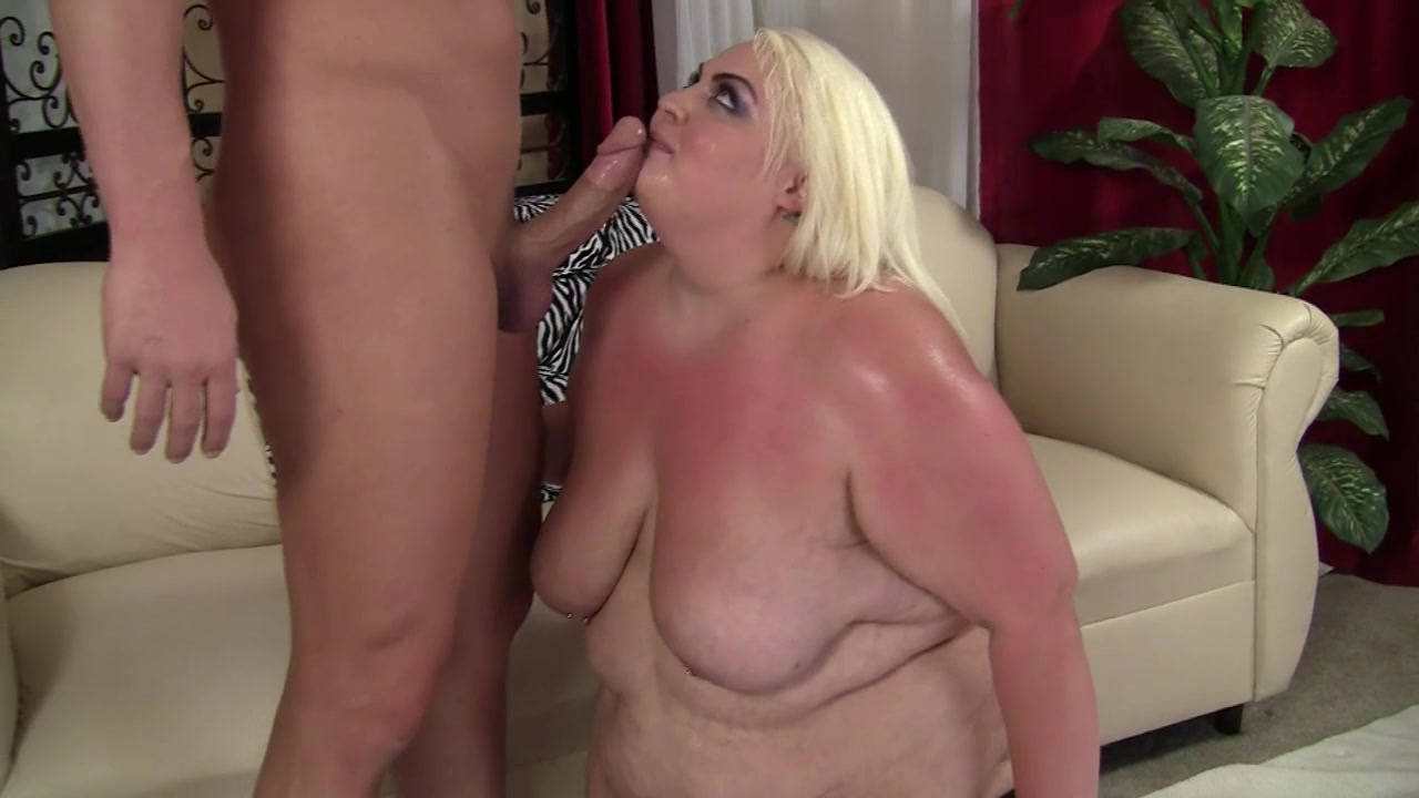 Big Boobed SSBW Banged Rough - Blowing Cock