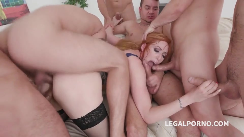 Brutal ass fuck orgy