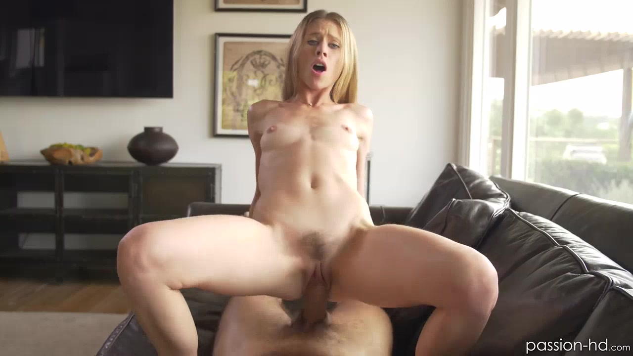 Hot Blonde Anya Olsen is back taking a dick up her hairy pussy