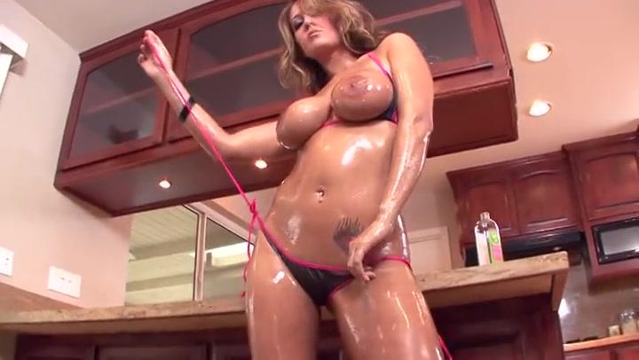 Trina Michaels Butt Fucking Oiled