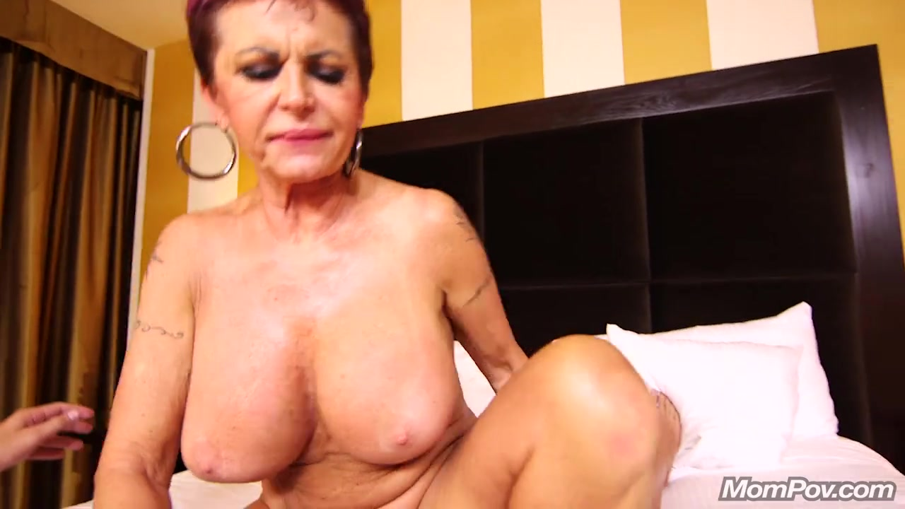 Granny mom whore anal #8