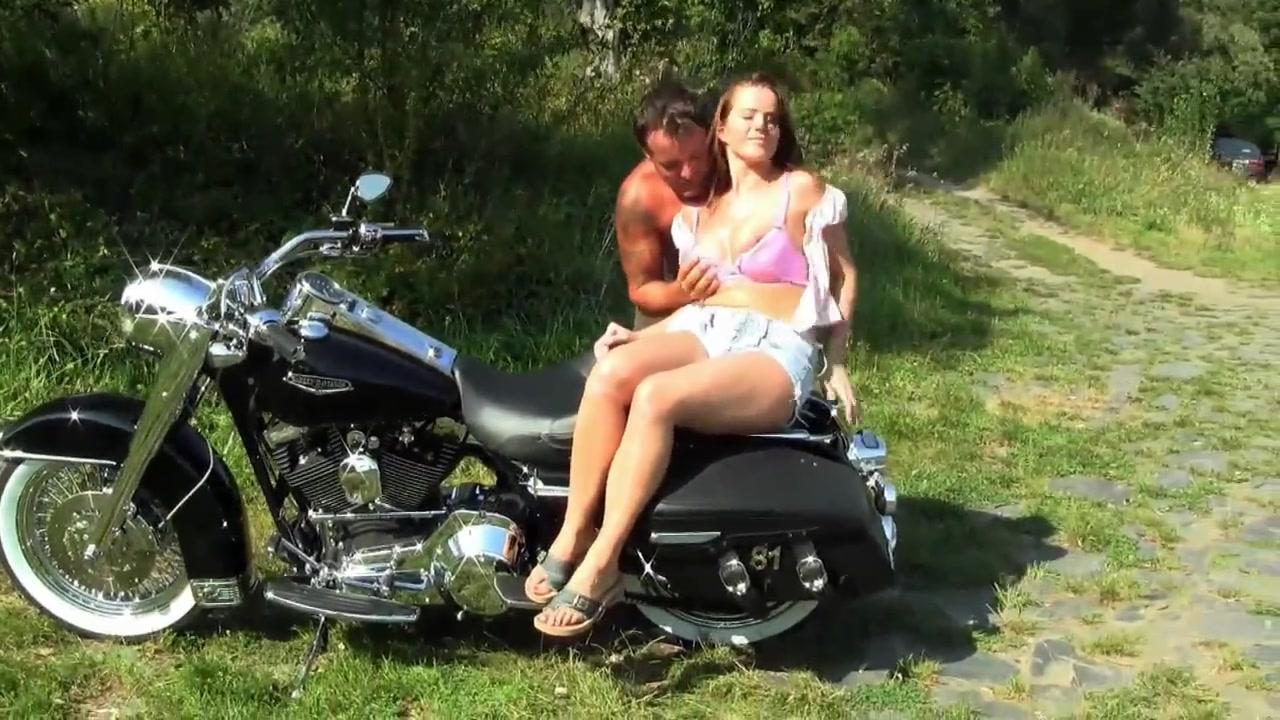 Motorcycle Big Cock